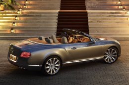 Bentley представила новый кабриолет 2013 Continental GT Speed