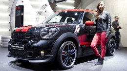 Сальто на Mini Countryman S JCW (ВИДЕО)