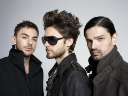 Сингл группы 30 Seconds To Mars запустили в космос (ФОТО)
