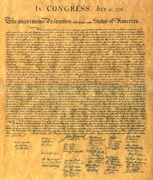 an introduction to the many abstractions in the declaration of independence of the united states