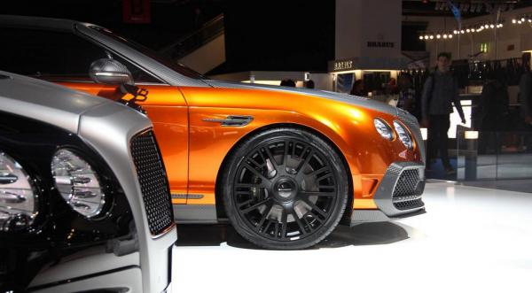 Mansory представила во Франкфурте Bentley Continental GTC (ФОТО)