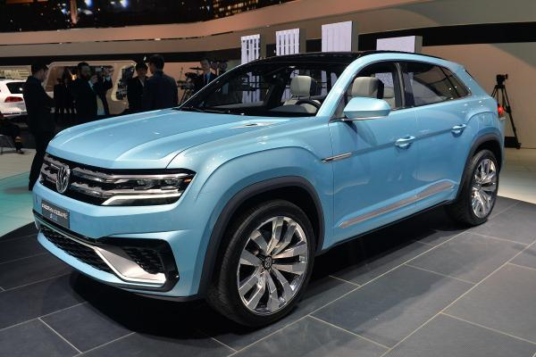 Zotye занимается созданием копии кроссовера VW Cross Coupe (ФОТО)