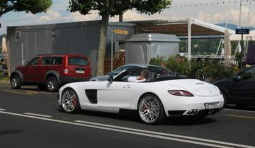 Ателье Brabus «прокачало» Mercedes-Benz SLS AMG Roadster