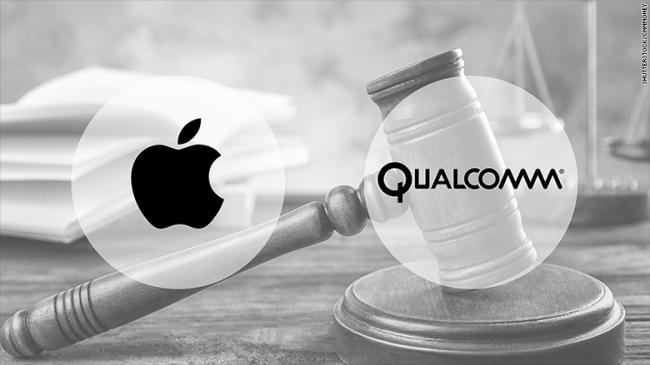Qualcomm снова подала в суд на Apple
