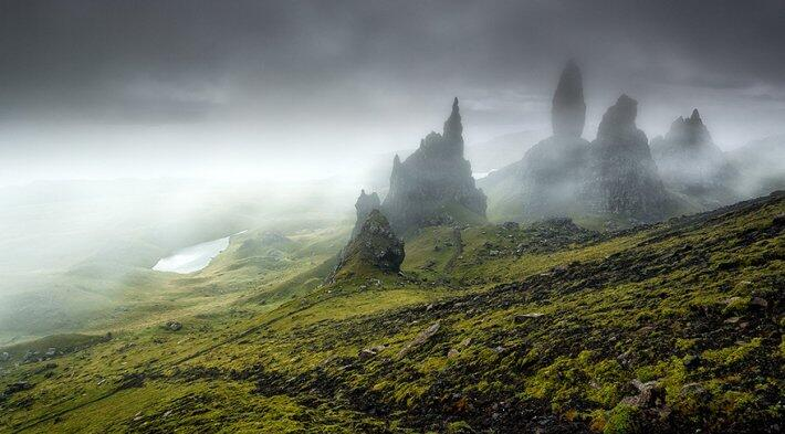 Удивительные пейзажи Шотландии (ФОТО)