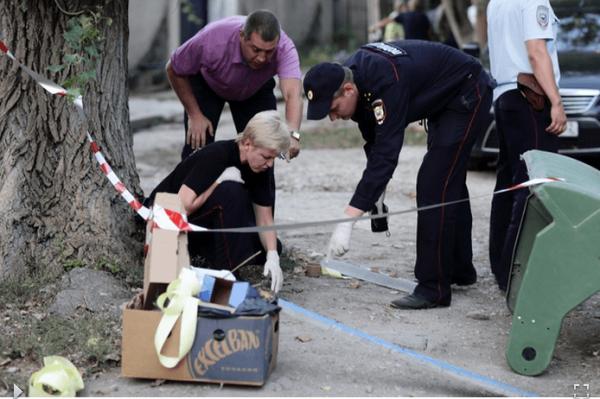 Кровавая суббота в Симферополе (ФОТО, ВИДЕО)