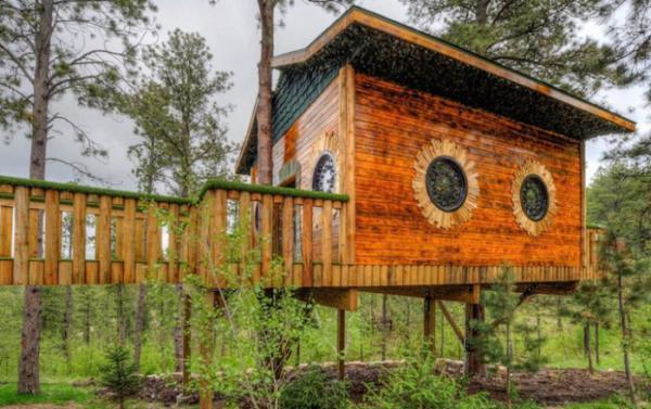 Уникальный отель «Дом хоббита» в США (ФОТО)