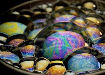 Микрокосмос: что скрывают мыльные пузыри (ВИДЕО)