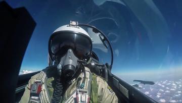 РФ опубликовала видео боевых вылетов в Сирии (ВИДЕО)