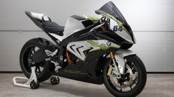 Немецкая компания BMW представила на суд общественности электромотоцикл (ФОТО)