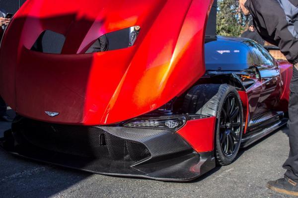 В Сети появились новые снимки роскошного спортивного суперкара Aston Martin (ФОТО)
