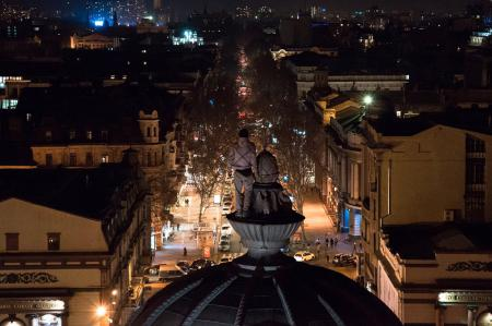 В Одессе руферы залезли на оперный театр (ФОТО)