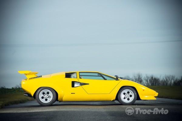 Lamborghini Countach 400S.  Легенда-суперкар уйдет с молотка аукциона (ФОТО)