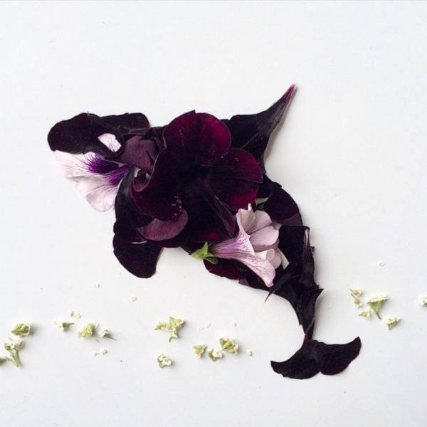 Уникальные органические произведения искусства американской художницы (ФОТО)