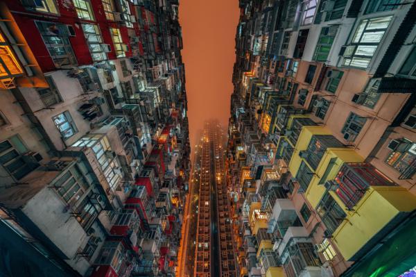 Взгляд с земли. Гипнотизирующий Гонконг во всей красе (ФОТО)