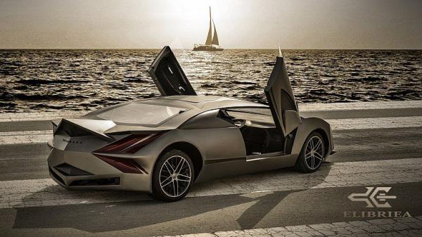 Elibriea Equvallas - первый арабский суперкар (ФОТО)