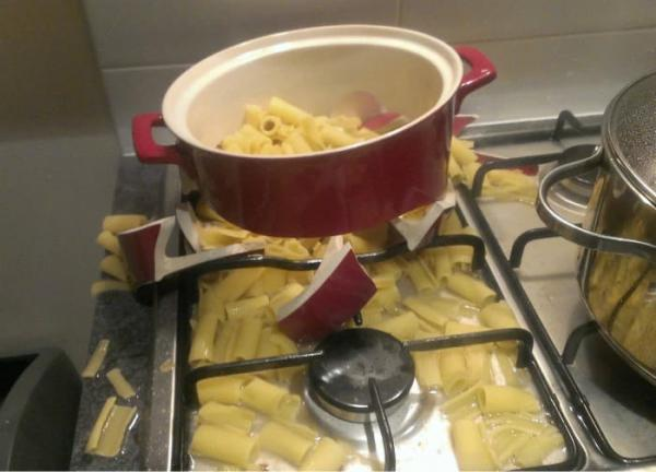 Холостяк на кухне или суровая мужская кулинария (ФОТО)