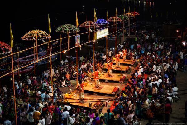 Шокирующая Индия: Варанаси — Город Между Двуx Рек (ФОТО)
