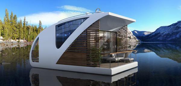Первый в мире плавающий отель-катамаран (ФОТО)