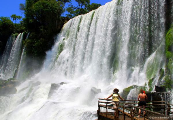 Жемчужина Южной Америки - водопад Игуасу (ФОТО)