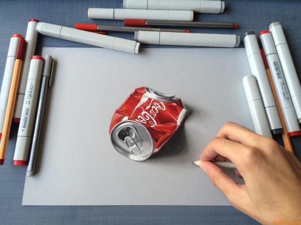 Гиперреалистичные рисунки от 19-летнего парня из Индии стали хитом интернета (ФОТО)