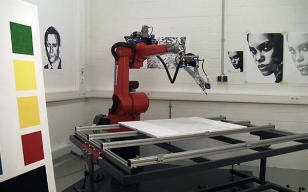 В США проводят конкурс картин, которые рисовали роботы (ФОТО)