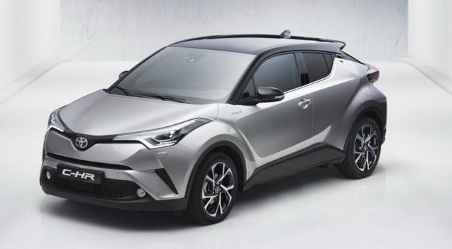 В Сети появились первые снимки кроссовера Toyota C-HR (ФОТО)