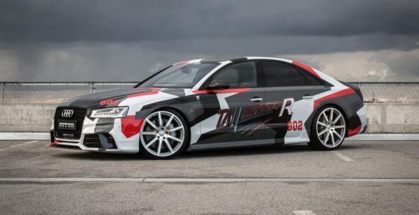 Audi S8 Talladega. Немцы представили тюнингованный седан (ФОТО)