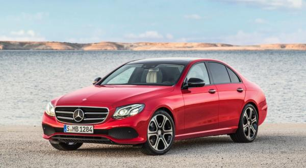Компания Mercedes поставила на конвейер новинку E-Class (ФОТО)