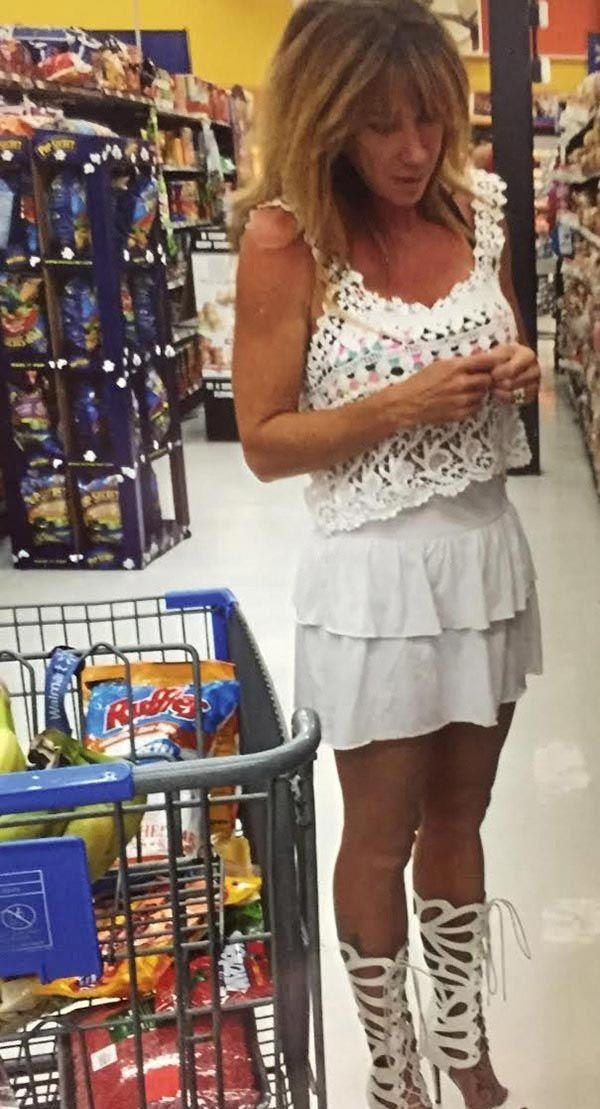 Самые колоритные персонажи в американских супермаркетах (ФОТО)
