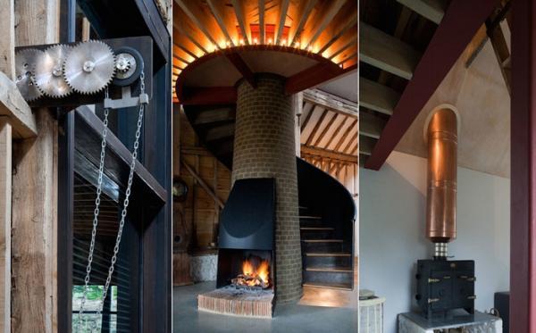 Архитекторы из Лондона превратили старый амбар в уютный жилой дом (ФОТО)