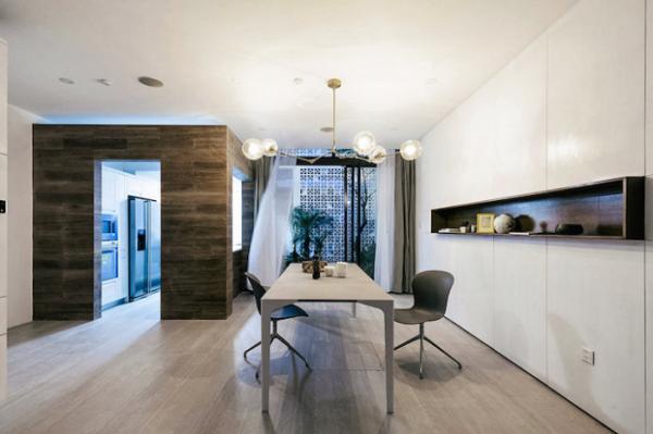 Проще - не значит хуже: дом с белоснежным перфорированным фасадом (ФОТО)