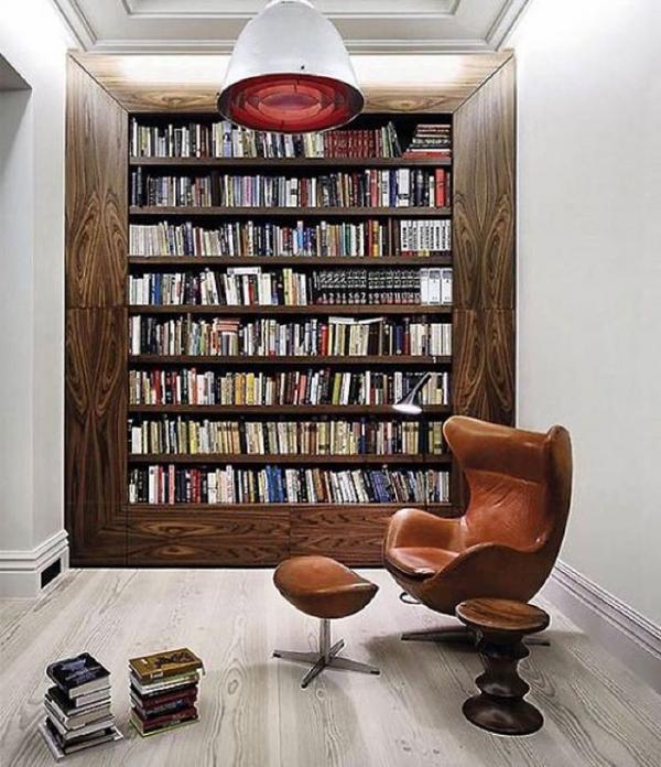 Книголюбы лопнут от зависти: 20 великолепных домашних библиотек (ФОТО)