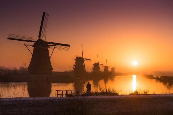 Путешествие в Европу: сказочные красоты Страны тюльпанов (ФОТО)