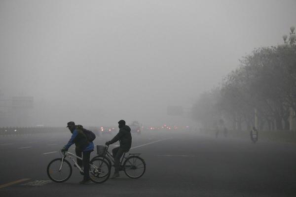 Китайские города задыхаются от смога (ФОТО)