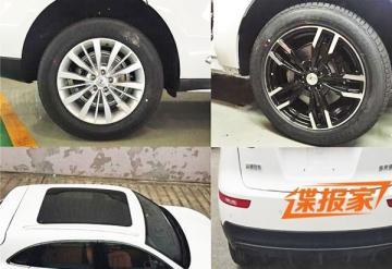 Китайский клон Porsche Macan замечен фотошпионами (ФОТО)