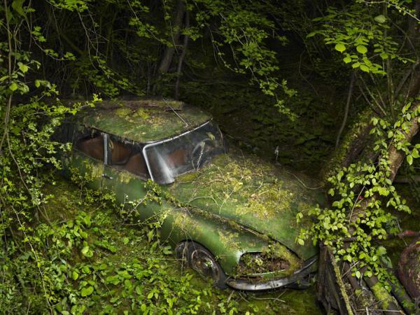 Рай для машин. Необычные работы американского фотографа (ФОТО)