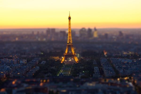 Как выглядят знаменитые города в tilt-shift-фотографиях (ФОТО)