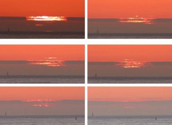 Оптические иллюзии, или эффект Новой Земли (ФОТО)