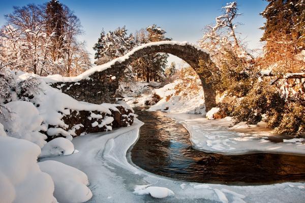 Сказочно красивые мосты из реальной жизни (ФОТО)