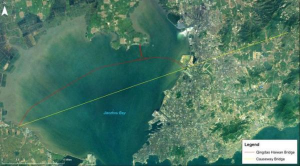 Сквозь озеро: самый длинный мост в мире (ФОТО)
