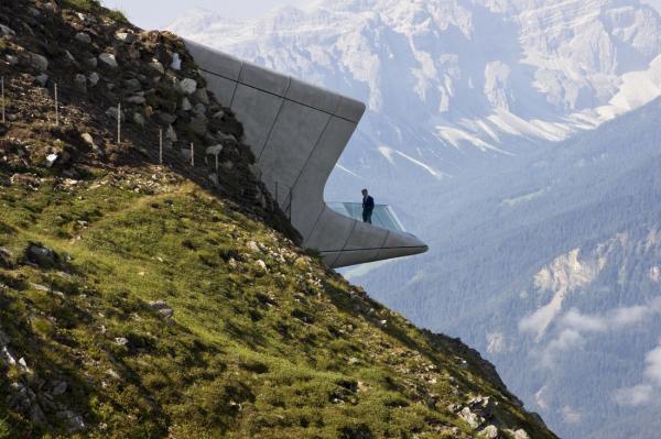 Удивительный музей с видом на знаменитые альпийские вершины (ФОТО)