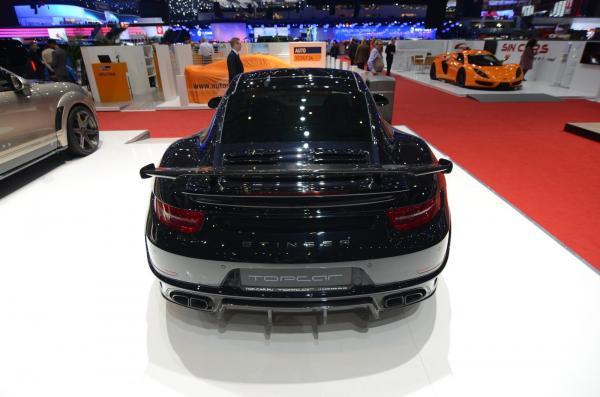 Ателье TopCar показало заряженное спорт-купе Porsche 911 (ФОТО)