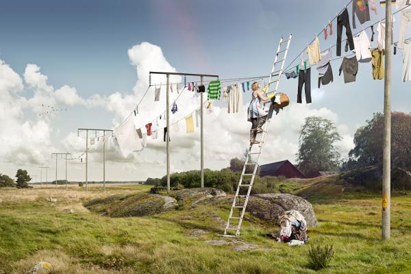 Обман зрения. Необычные фотоманипуляции шведского фотографа (ФОТО)