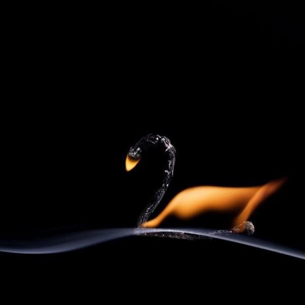 Огонь и дым спичек: необычные снимки (ФОТО)