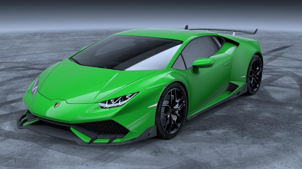 Lamborghini представила агрессивную версию суперкара Huracan (ФОТО)