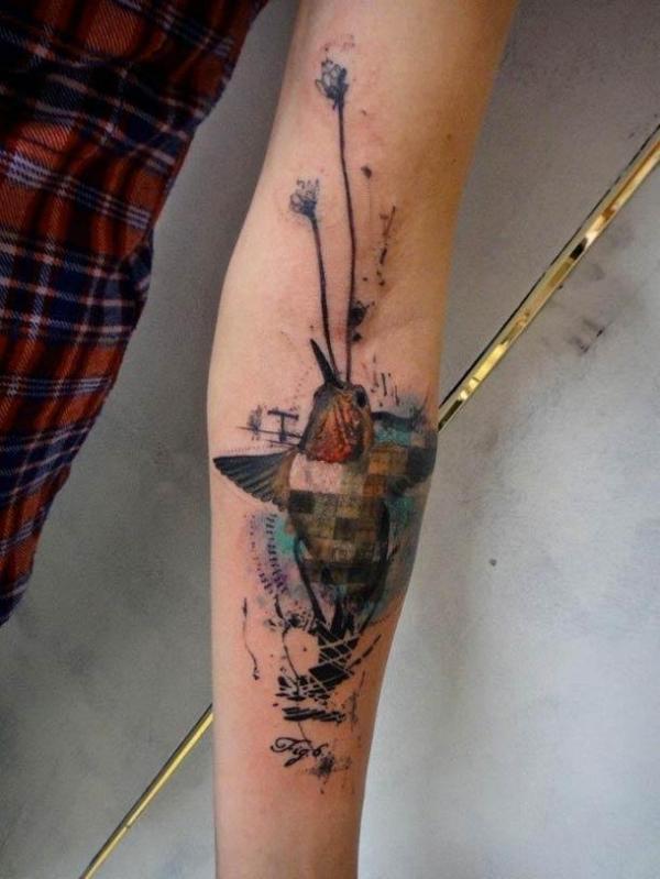 Шедевральные татуировки от французского тату-мастера (ФОТО)
