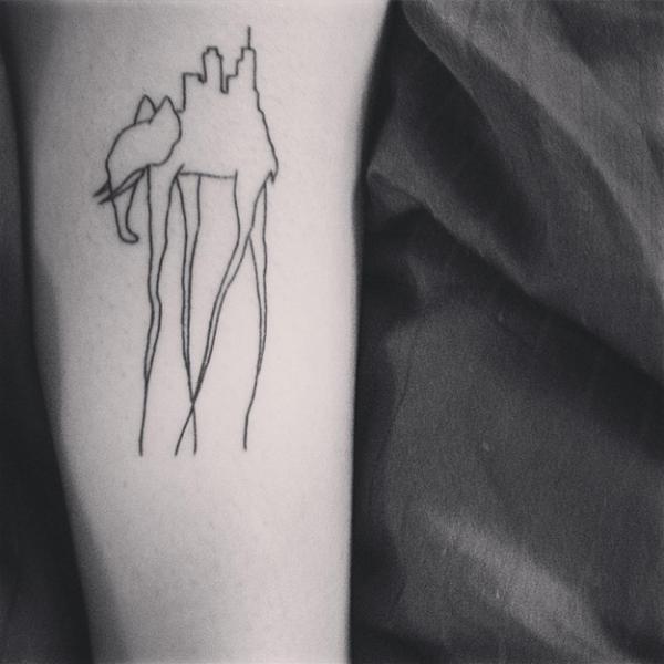 12 татуировок, которые вызовут восторг у настоящих ценителей искусства (ФОТО)