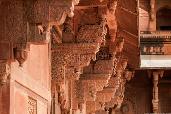 Резиденция правителей: знаменитый Красный форт в индийском городе Агра (ФОТО)
