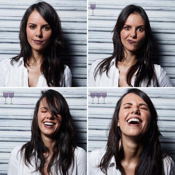 Как лица людей меняются после одного-двух-трех бокалов вина (ФОТО)